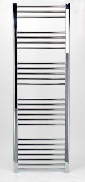Grzejnik łazienkowy york - wykończenie proste, 500x1500, chromowany