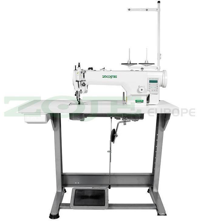 Automatyczna stebnówka Zoje ZJ0303L-3-D4 SET- krawiectwo średnie i ciężkie - silnik AC servo, 230V