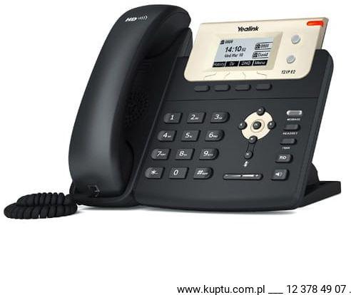 Yealink SIP-T21P E2 przewodowy telefon IP PoE