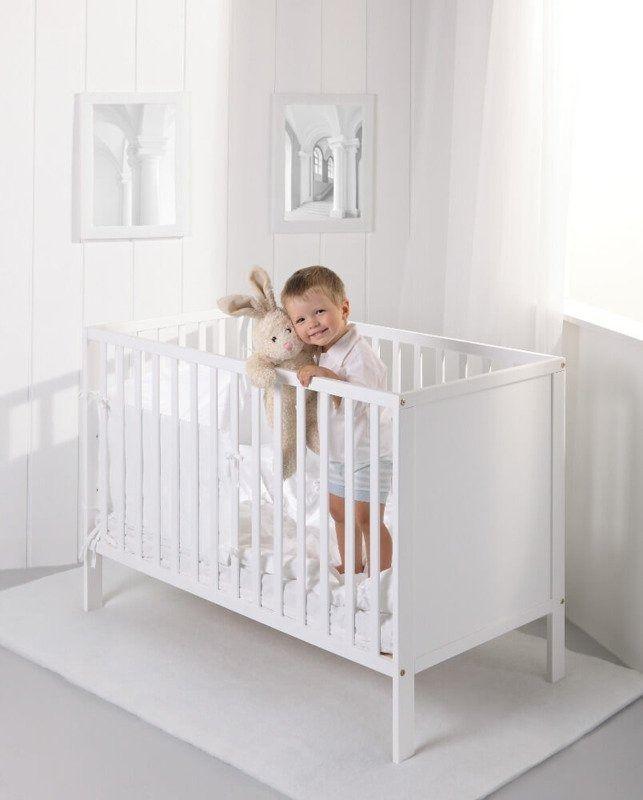 Łóżeczko dziecięce eco panel 120x60 troll nursery (k. biały)