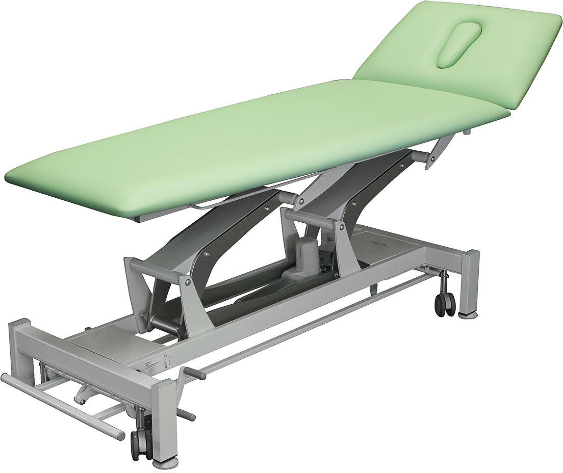 Stacjonarny stół Terapeuta - dwusekcyjny