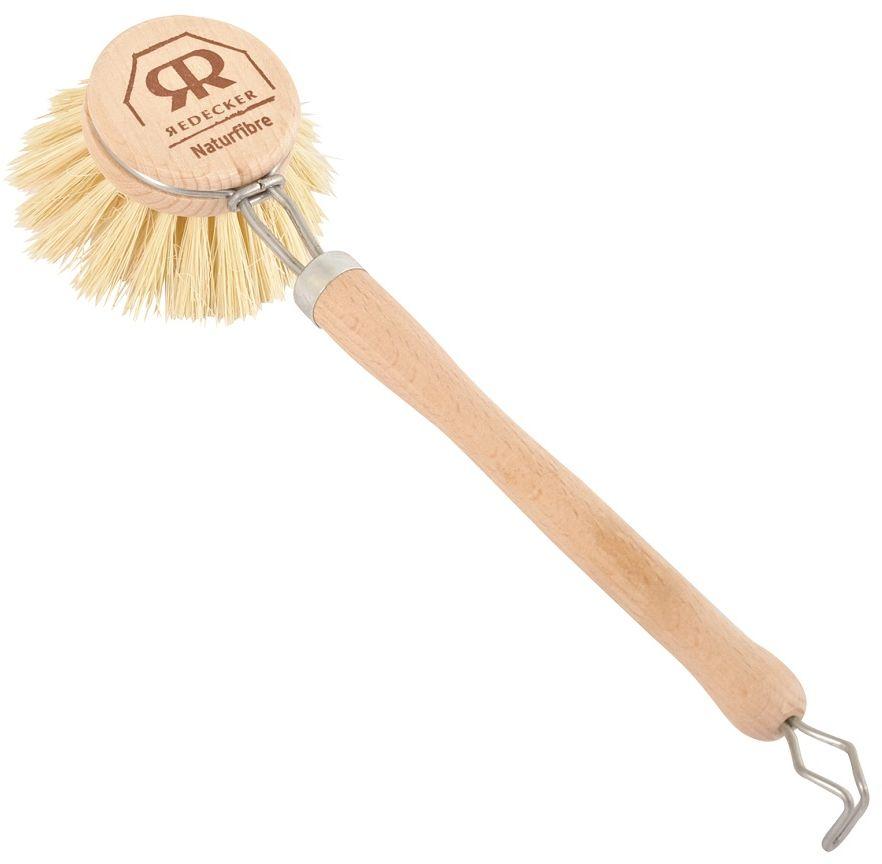 Szczotka Do Mycia naczyń Redecker Drewniana, Twarda Ø 4cm