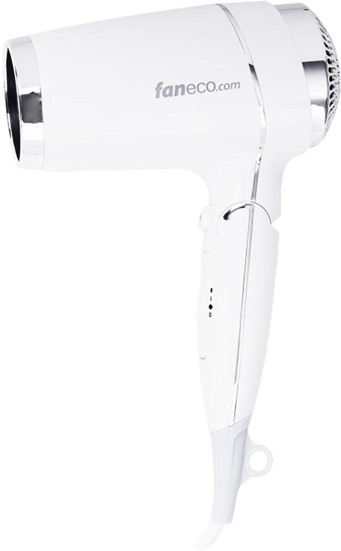 Hotelowa suszarka do włosów Faneco ASPRE 1800 W plastik biały