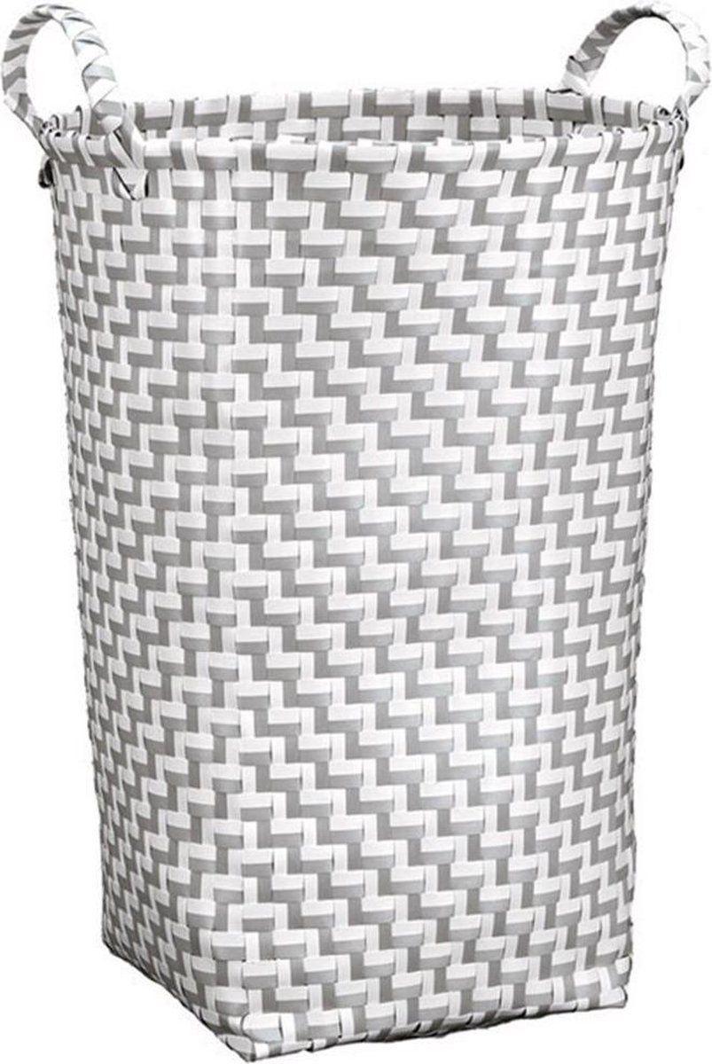 Kosz na pranie otwarty Kleine Wolke Double Laundry Platinum