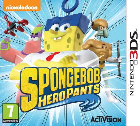 Gra Spongebob Heropants (Nintendo 3DS)