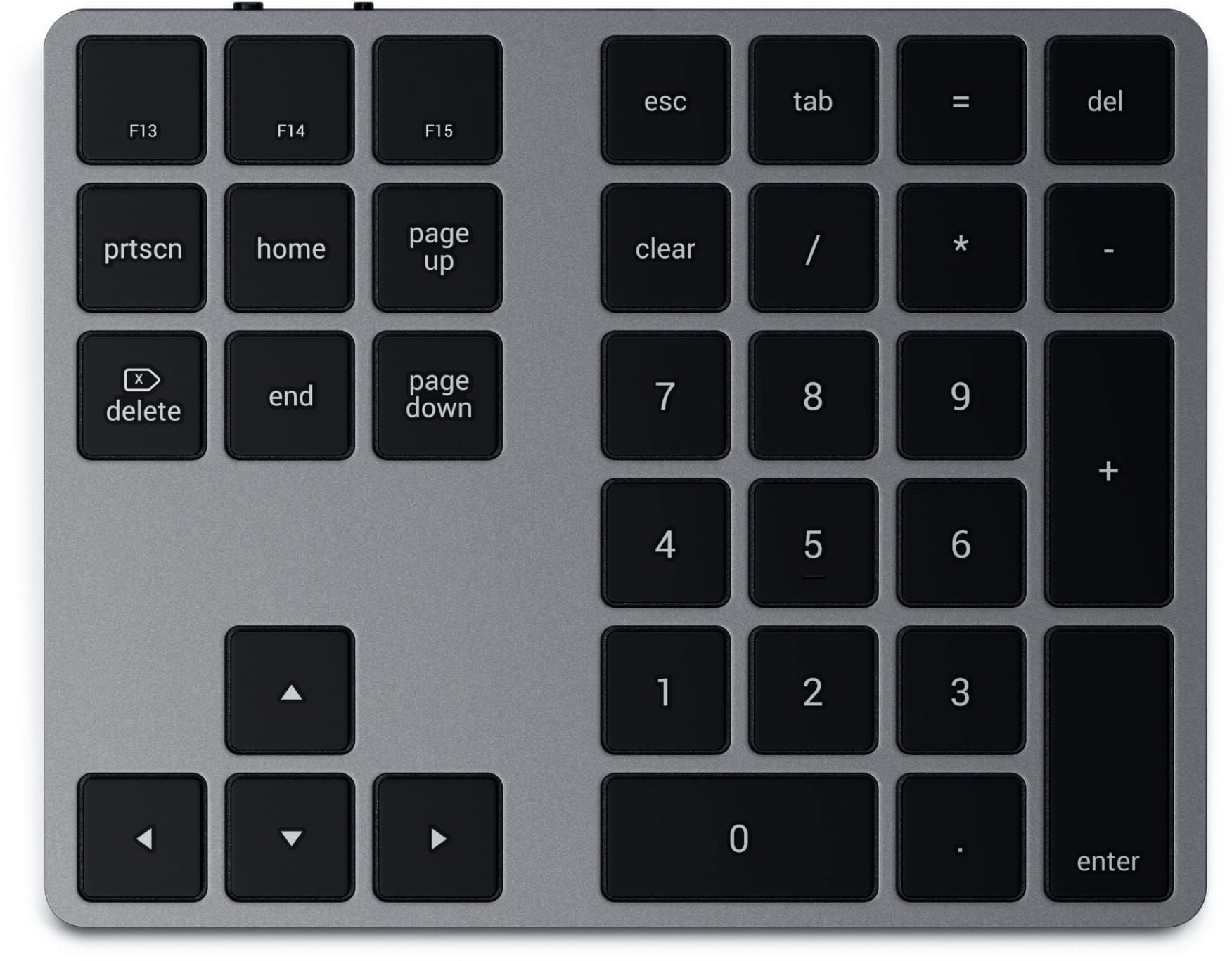 SATECHI Extended Wireless Keypad Space Gray