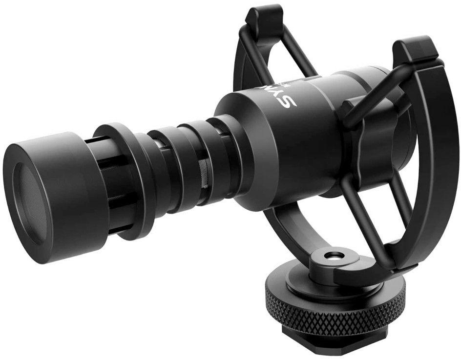 Mikrofon nakamerowy - kardioidalny z mocowaniem antishock Synco M1S