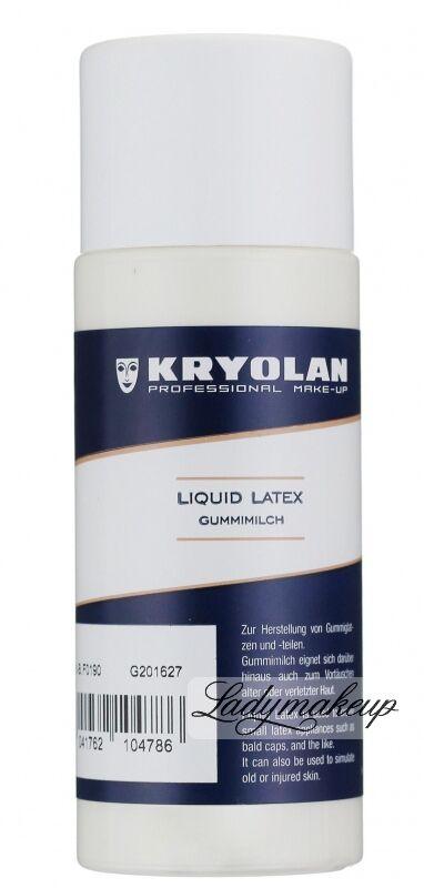 Kryolan - Gummimilch Latex Liquid - Mleczko do efektów specjalnych - ART. 2541