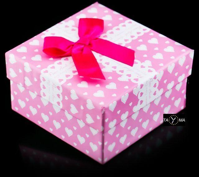 Prezentowe pudełko na zegarek - Happines
