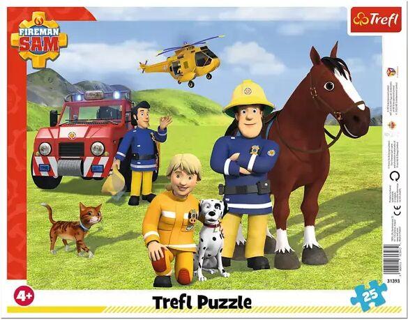 Puzzle 25 Ramkowe Zawsze na straży Strażak Sam 31393 - Trefl PAP