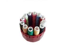 Zestaw nici Poliestrowych AGA 12 kolorów