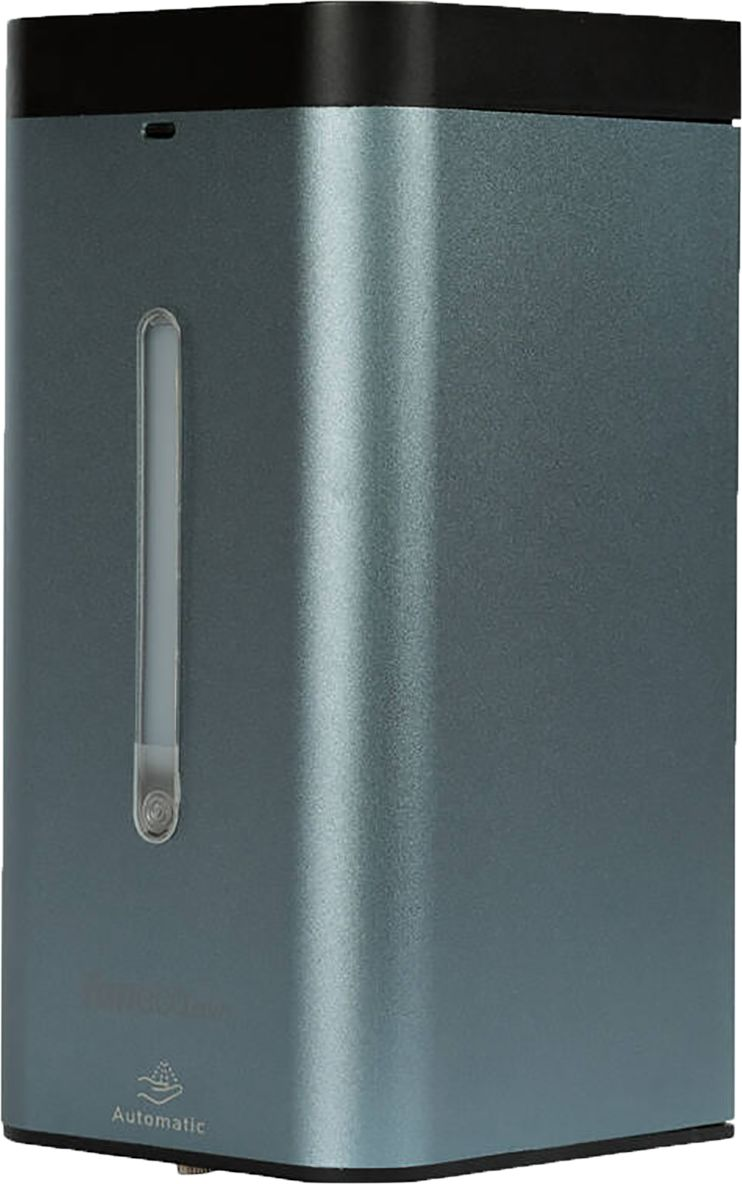 Automatyczny dozownik do płynu dezynfekcyjnego Faneco MED Pro Graphite 1 litr aluminium
