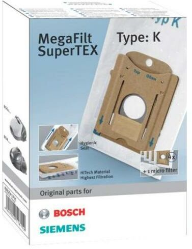 Bosch BBZ41FK (typ K)