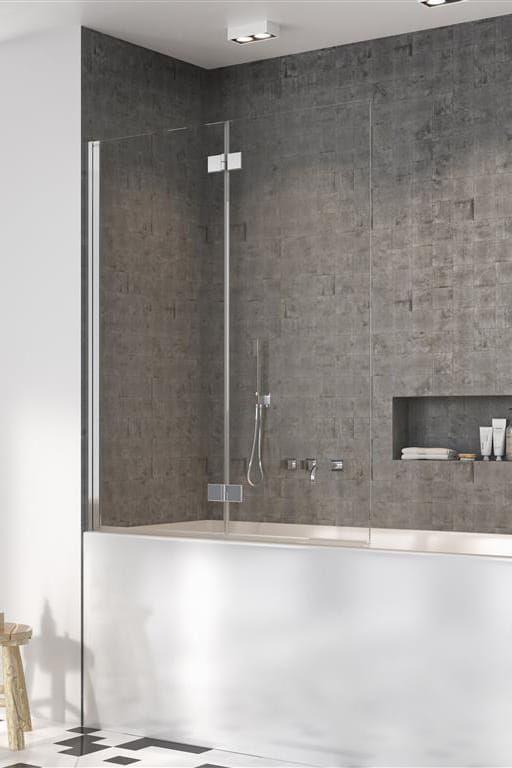 Radaway parawan nawannowy Nes PND I 110 cm lewy, szkło przejrzyste, wys. 150 cm. 10010110-01-01L