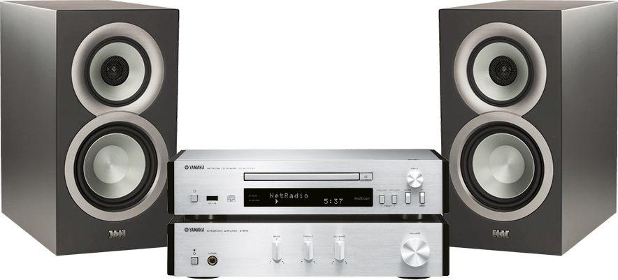 MusicCast PianoCraft MCR-N670D (srebrny) + ELAC Uni-Fi BS U5 (czarny)  SALONY FIRMOWE W 13 MIASTACH  25 LAT NA RYNKU  DOSTAWA 0 zł  ODBIÓR OSOBISTY