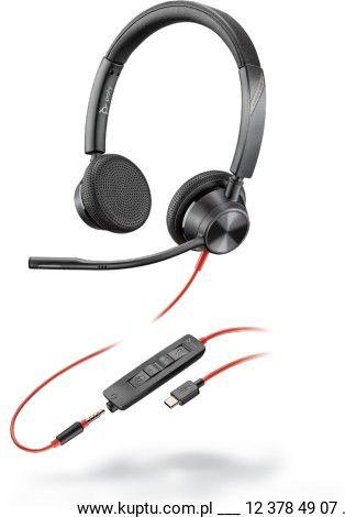 Blackwire 3325 przewodowy zestaw słuchawkowy USB-C (213939-01)