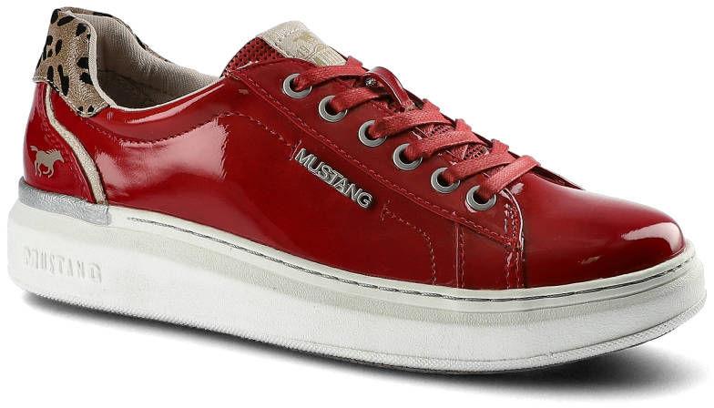 Sneakersy MUSTANG 46C0018 Czerwone