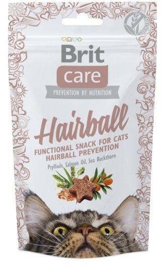 BRIT - Care snack hairball kot 50g
