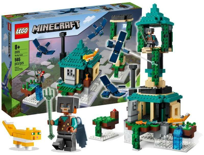 Klocki Lego 21173 Minecraft Podniebna Wieża