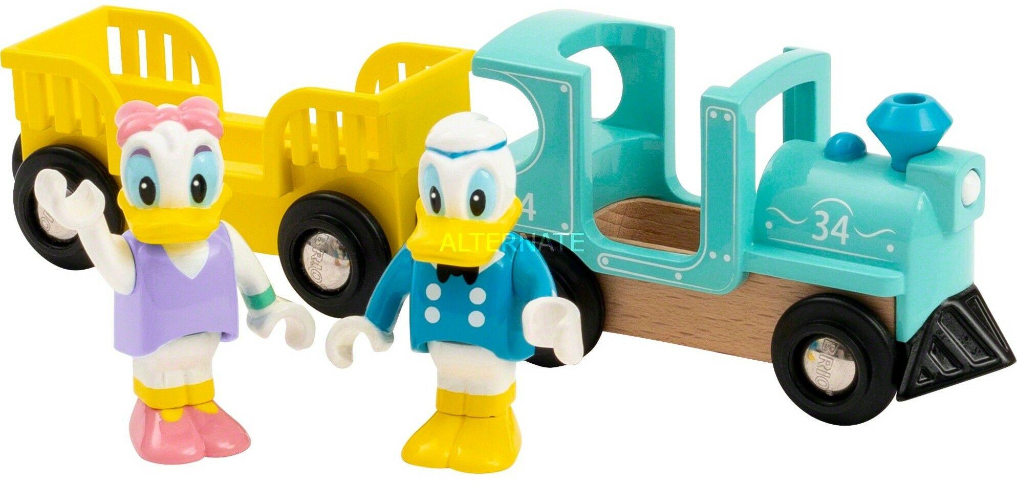 BRIO - Brio Retro Pociąg Kaczora Donalda i Daisy