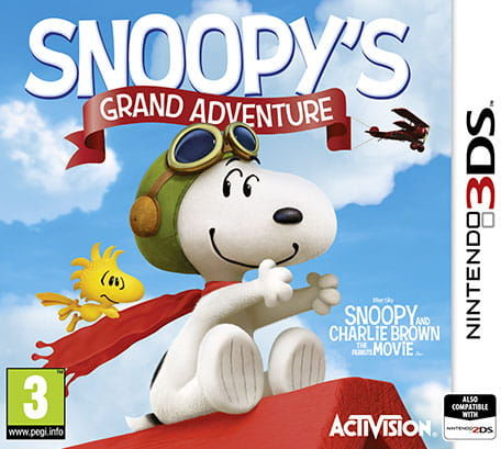 Gra The Peanut Movie: Snoopy''s Grand Adventure (Nintendo 3DS)
