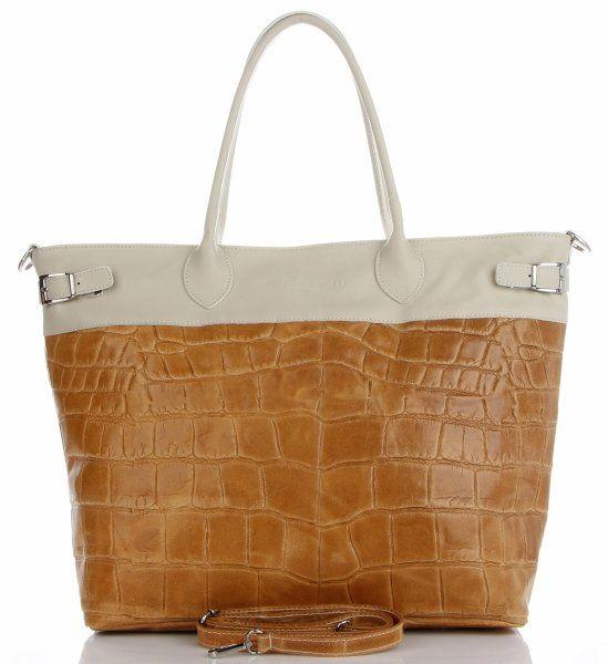 Torebki Skórzane Shopper Bag firmy VITTORIA GOTTI Jasno Szare(kolory)Torebki Skórzane Shopper Bag firmy VITTORIA GOTTI Rude (kolory)