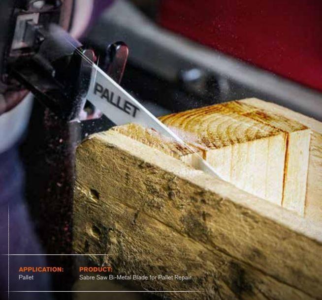 brzeszczot bagnetowy do piły szablastej, do naprawy palet, 228mm, 10/14 zębów/cal, PALLET, Bahco [3940-228-10/14-PR09-10P]
