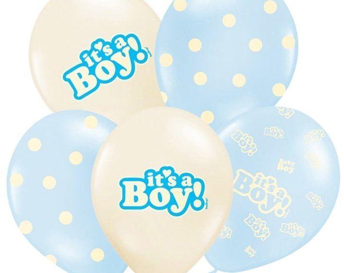Balony It''s a Boy mix SB14P-251-000-6
