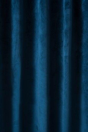 ZASŁONA GOTOWA GRANATOWA NA PRZELOTKACH 140x250 CM 99846-VILL-GRAN