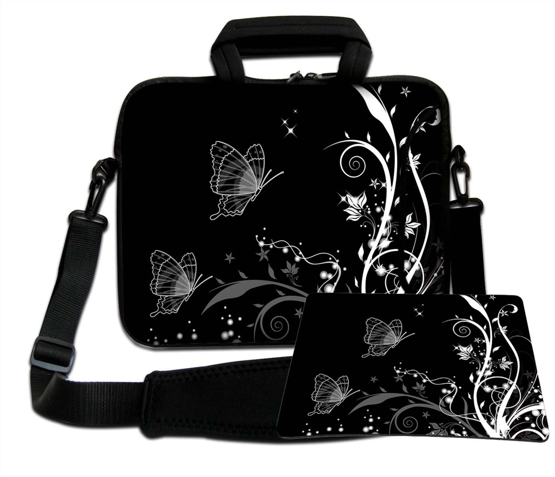 Luxburg torba na ramię torba na notebooka torba na laptopa torba z paskiem z neoprenu Plus Free Moupad! Do Apple, Acer, Asus, Chromebook, Dell, HP, Lenovo, Samsung, Sony itd. Laptop 13,3 cala