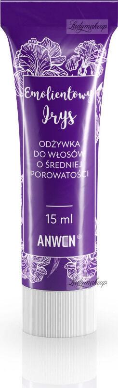 ANWEN - Emolientowy Irys - Mini odżywka do włosów o średniej porowatości - 15 ml