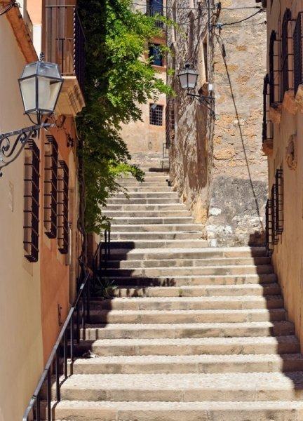 Fototapeta Schody - Hiszpania - 183x254cm