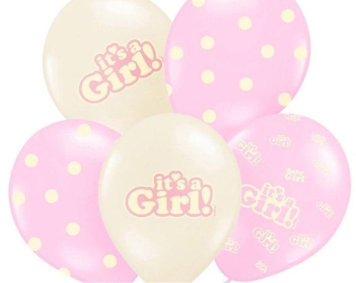 Balony It''s a Girl mix SB14P-252-000-6