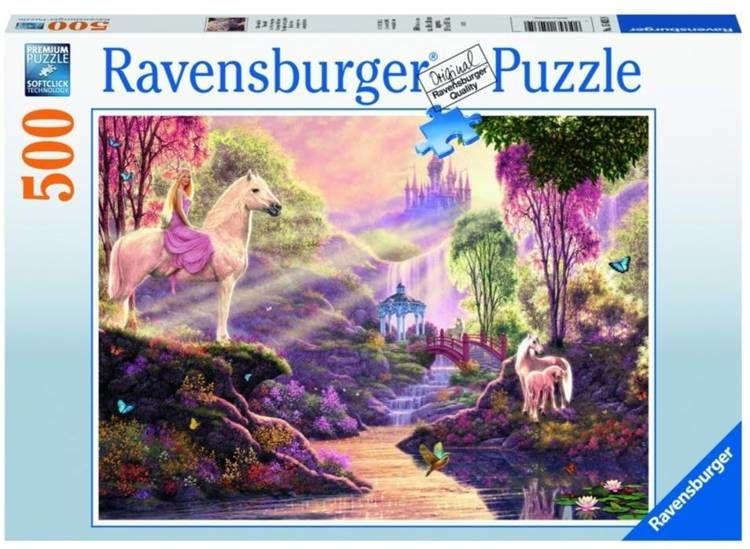 Puzzle 500 Bajkowa rzeka - Ravensburger