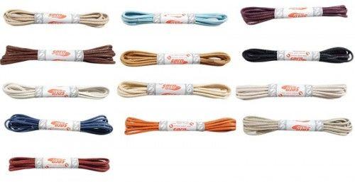 Sznurówki cienkie woskowane 90cm SC 11 kolorów