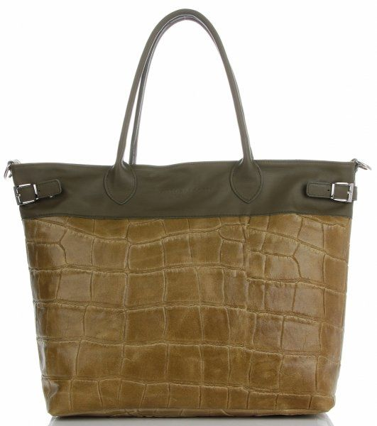 Torebki Skórzane Shopper Bag firmy VITTORIA GOTTI Jasno Szare(kolory)Torebki Skórzane Shopper Bag firmy VITTORIA GOTTI Zielone (kolory)
