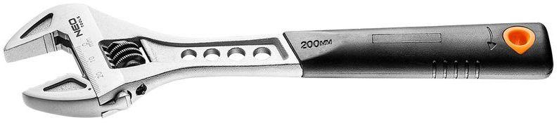 Klucz nastawny 200 mm zakres 0-29 mm 03-011