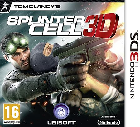 Gra Tom Clancy''s Splinter Cell 3D (Nintendo 3DS)