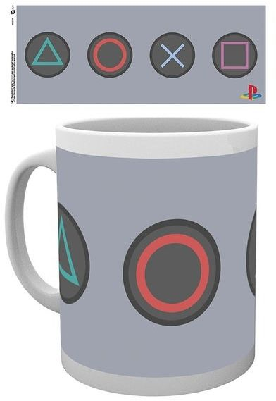 Playstation buttons - kubek