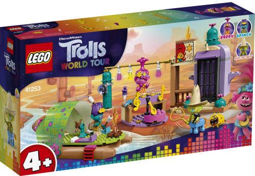 Zestaw Lego Trolls 4+ Pustkowie i przygoda na tratwie