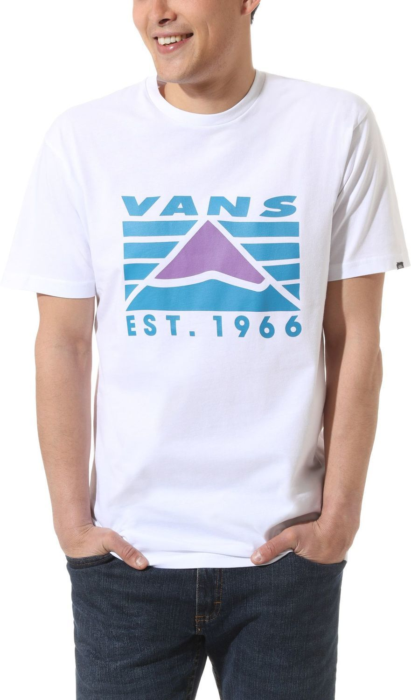 t-shirt męski VANS HI-POINT SS White