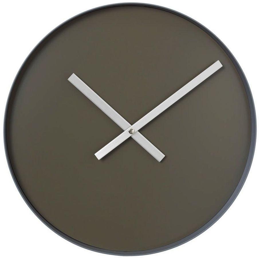 Blomus - rim - zegar ścienny fi, 40,50 cm, szary - szary