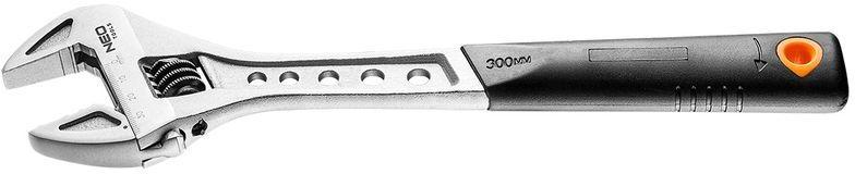 Klucz nastawny 300 mm zakres 0-38 mm 03-013