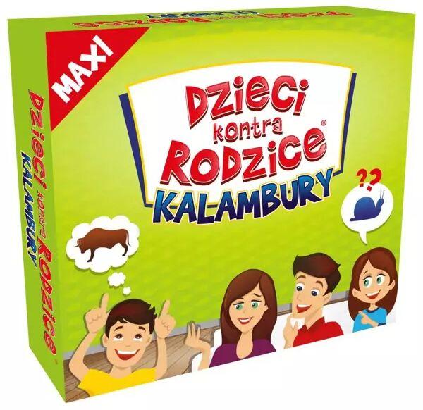 Gra Dzieci kontra Rodzice Kalambury MAXI - Kangur