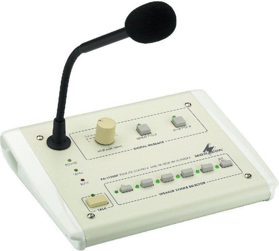 Monacor PA-1120RC, mikrofon pulpitowy pa, strefowy