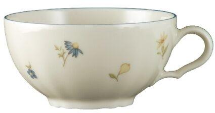 Zestaw 4 filiżanek do herbaty ze spodkiem Marie Luise Seltmann Weiden