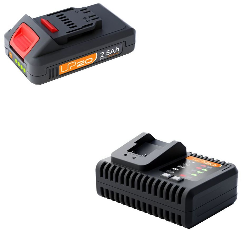 Zestaw akumulator i ładowarka 20V 2.5Ah LEXMAN