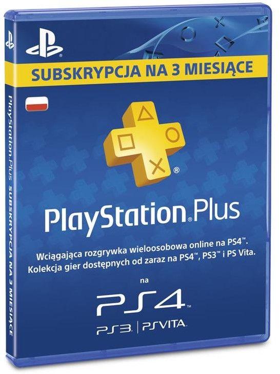 Playstation Plus Pre-paid - 90 dni (3 miesiące) - Digital (klucz online)