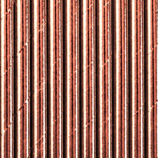 Słomki papierowe różowe złoto 250 sztuk SPP9M-019R-250