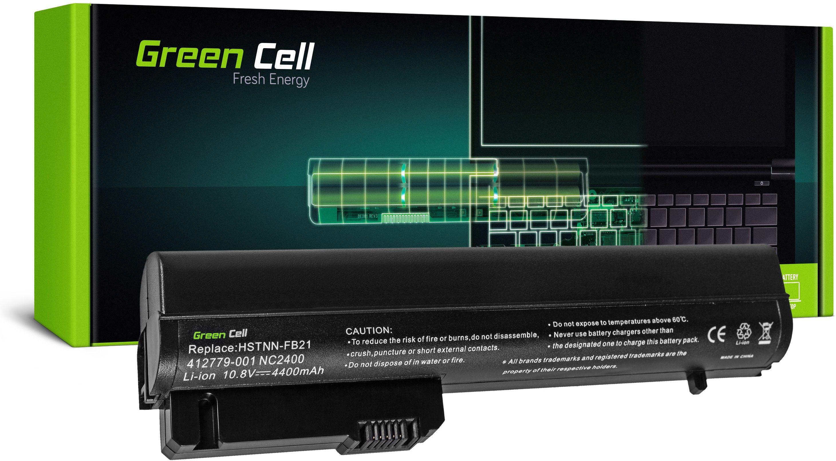 Bateria Green Cell HSTNN-FB21 do HP EliteBook 2530p 2540p HP Compaq 2400 2510p